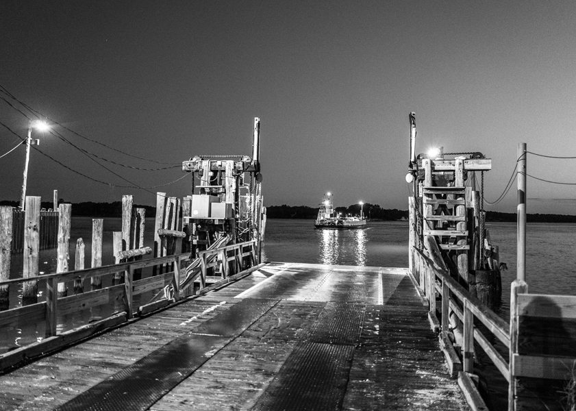 The Very First Ferry of the Day